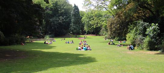 Photos illustrations et vid os de parc vauban for Jardin vauban lille