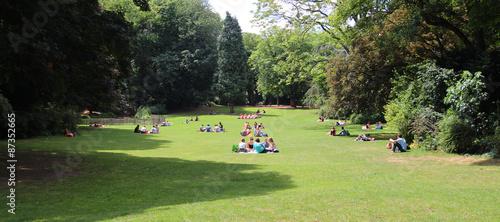 Jardin public parc vauban lille immagini e for Jardin vauban lille