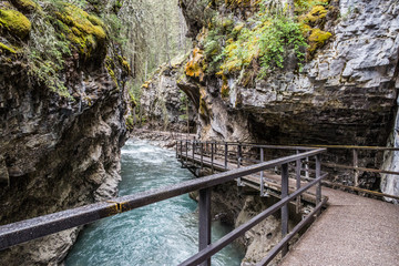 catwalk over the Johnston Canyon II
