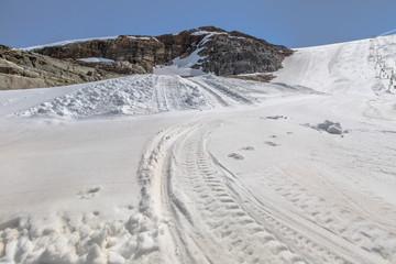 Ski Slope Glacier