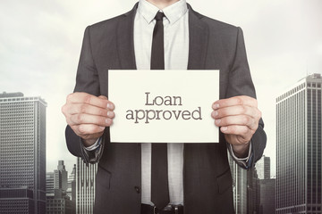Loan approved on paper