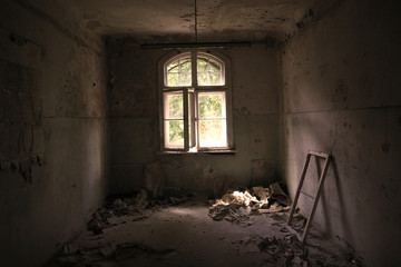 lost place old hospital Beelitz near Berlin