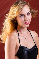 Sexy Blondie Posing