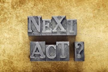 next act q