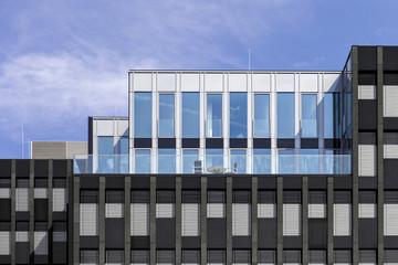 Hausfassade Fensterfront Ausblick