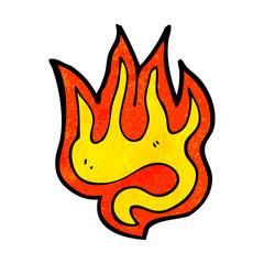 fire cartoon symbol