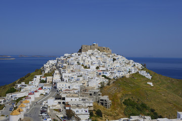 Panoramic view of Astypalaia