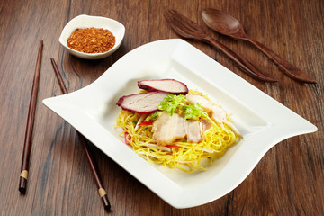 Noodle with pork