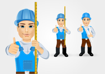 construction engineer worker builder