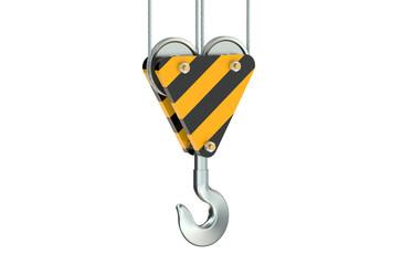 crane hook closeup