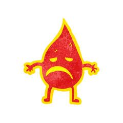 cartoon little fire spirit