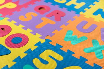 ABC foam puzzle