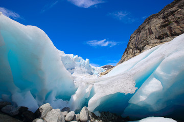 Photo sur Plexiglas Glaciers Nigardsbreen glacier