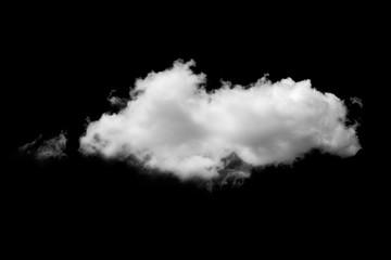 Aluminium Prints Heaven clouds on black background