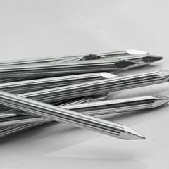 Construction nails.