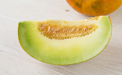 Muskmelons (or Mush melons) - same family with Honeydew & Cantal