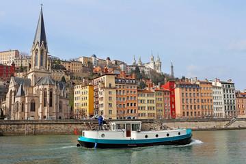 Lyon, plaisance , Saint-Georges, et Fourvière