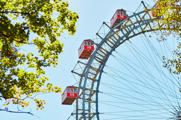 Famous Ferris Wheel of Vienna