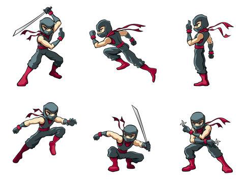 Ninja in Actions 01