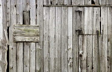 weathered old wood barn background