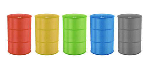Metal Barrels for Oil, Toxic Chemical and Other
