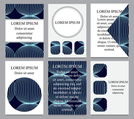 card. poster, brochure template with geometric shape. abstract b