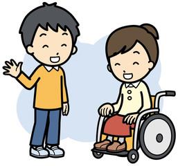 健常者と障害者