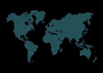 世界地図 world map