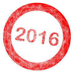 2016 rubber Stamp