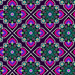 vector folk pattern