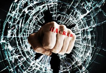 Hacker window fist