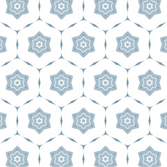 Flower pattern blue delicate colors.