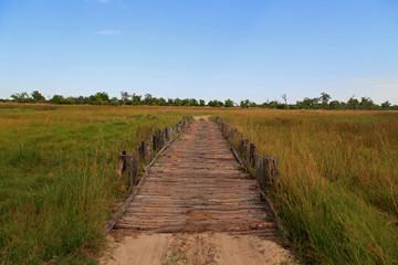 Brücke in Botswana