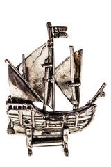 Silver galleon