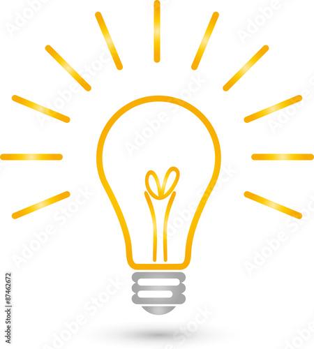 Lampe, Logo, Elektriker, Idee