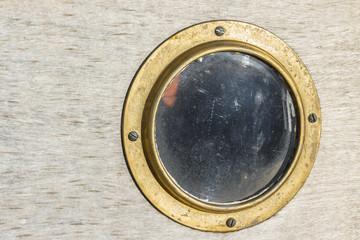 Porthole on the boat