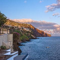 Sea beach, Funchal, Madeira, Portugal
