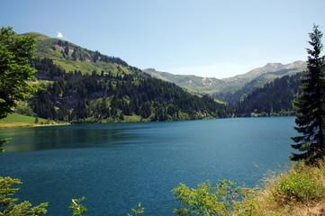 lac du barrage de st guérin-savoie