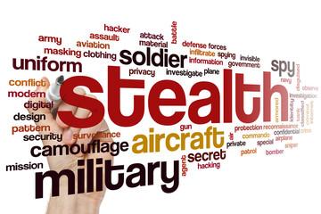 Stealth word cloud