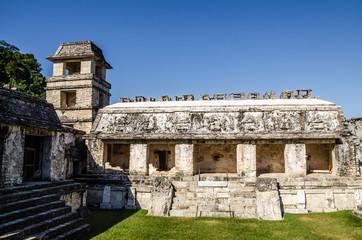 Palenque - Mayan City ruins in Mexico