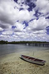 Canoa de pesca artesanal