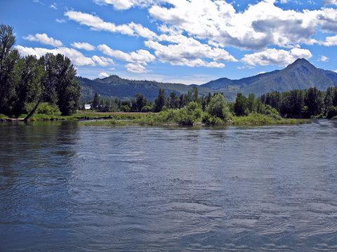 Wenatchee River From Leavenworth