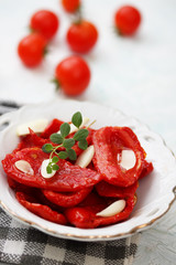 tomatoes with thyme