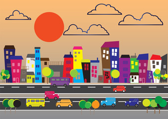 200715 City landscape