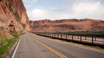Utah Outback Highway 128 Colorado River Bike Path
