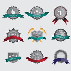 Retro Vintage. Vector design elements, business signs, logos, la