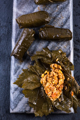vine leaves stuffed