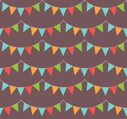 garland seamless pattern