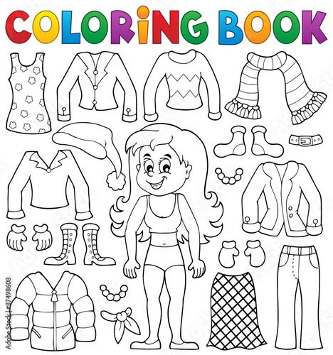 440 Download Clothes Coloring Book Picture HD