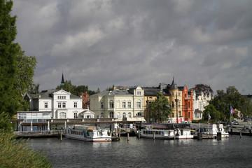Schiffsanleger in Schwerin